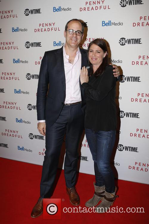 David Nevins and Maura Tierney 2