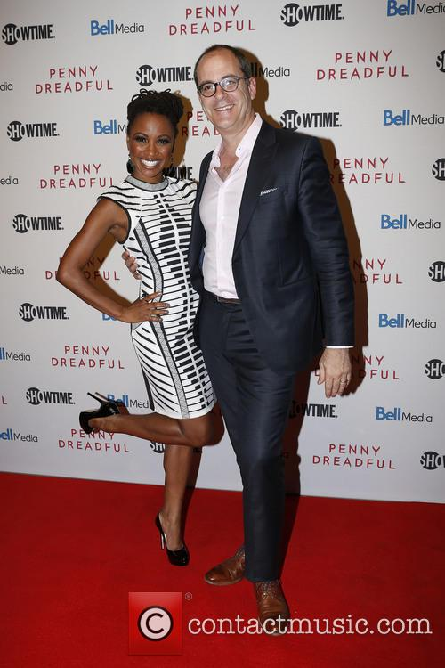 Shanola Hampton and David Nevins 4