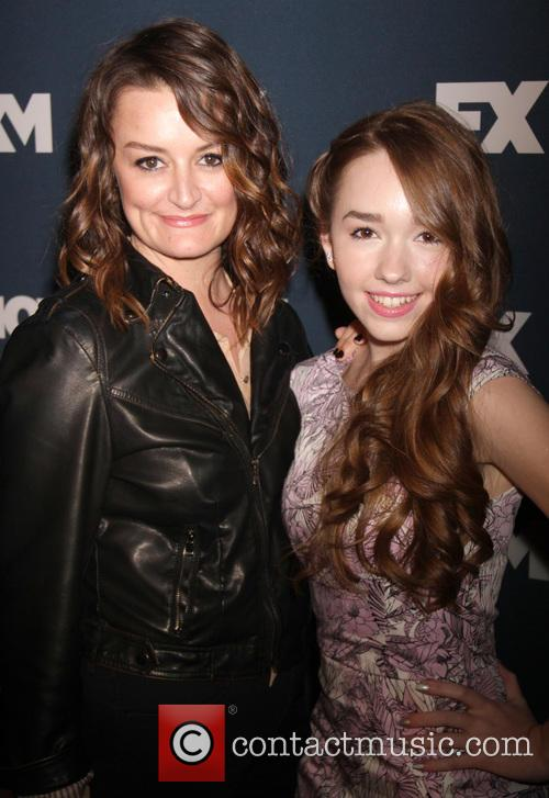 Allison Wright and Holly Taylor 2