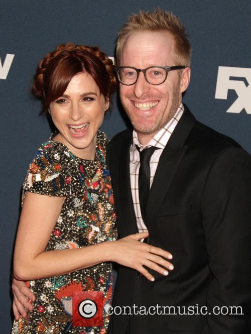 Aya Cash and Husband 4