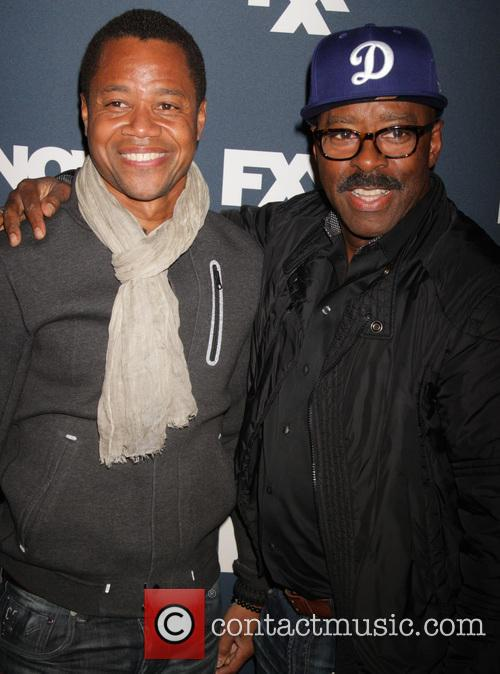 Cuba Gooding Jr. and Courtney B.vance 2