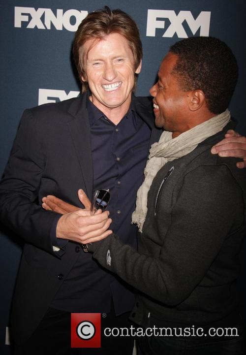 Denis Leary and Cuba Gooding Jr. 6