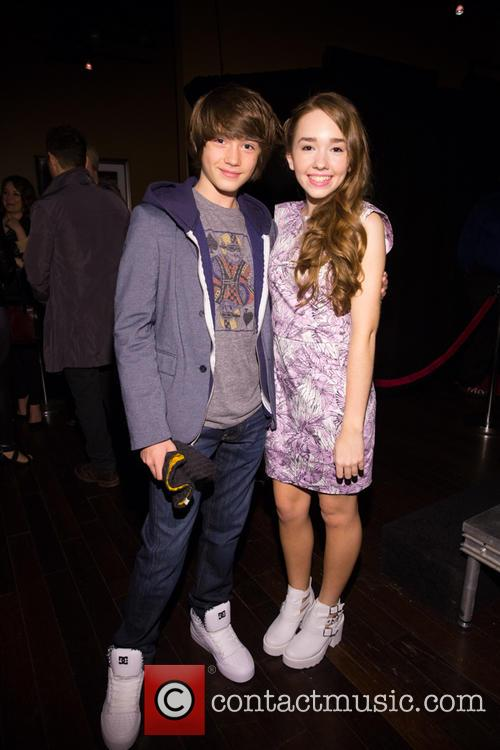 Keidrich Sallati and Holly Taylor 4