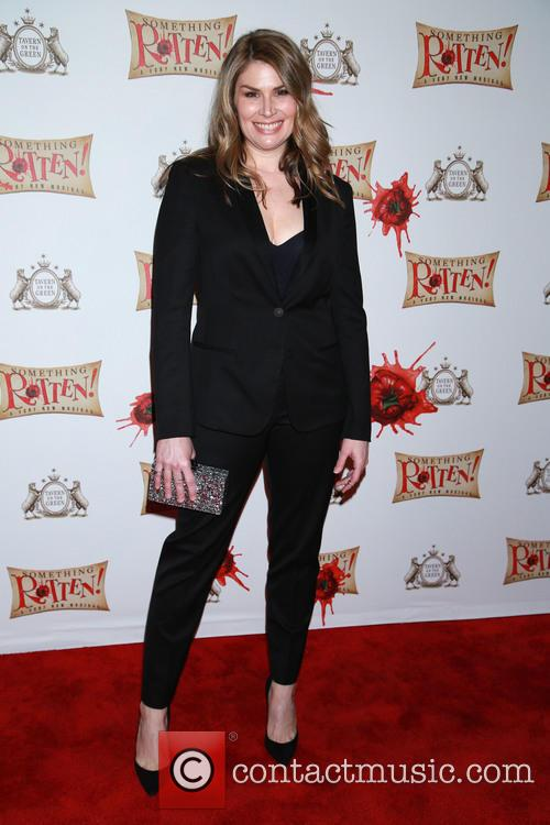 Something Rotten Opening Party Arrivals