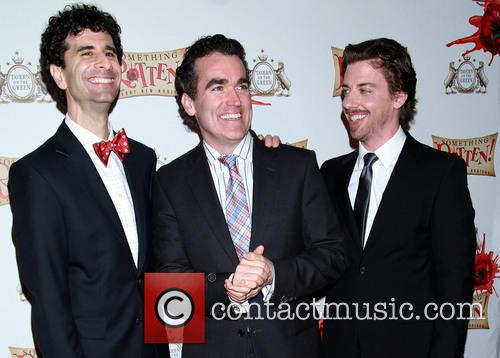 John Cariani, Brian D'arcy James and Christian Borle 4