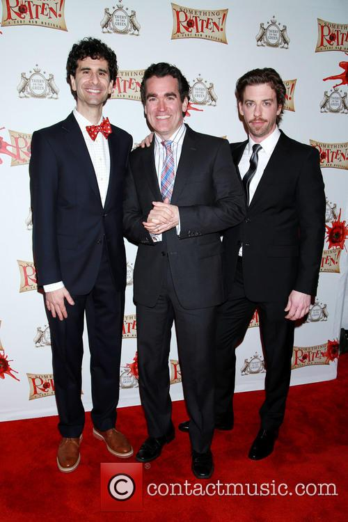 John Cariani, Brian D'arcy James and Christian Borle 5