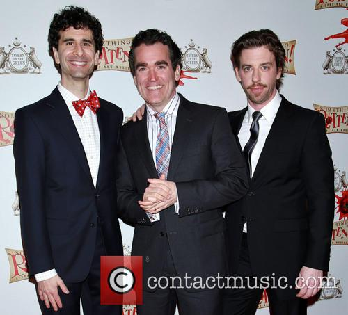 John Cariani, Brian D'arcy James and Christian Borle 1