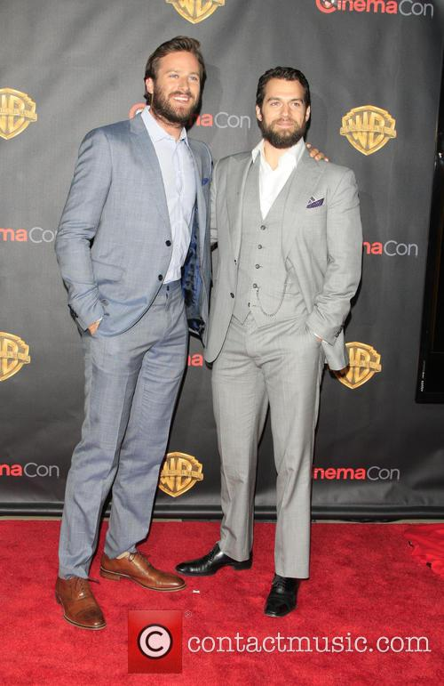 Armie Hammer and Henry Cavill 2