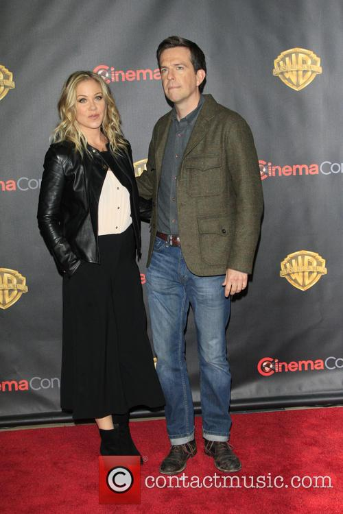 Christina Applegate and Ed Helms 2