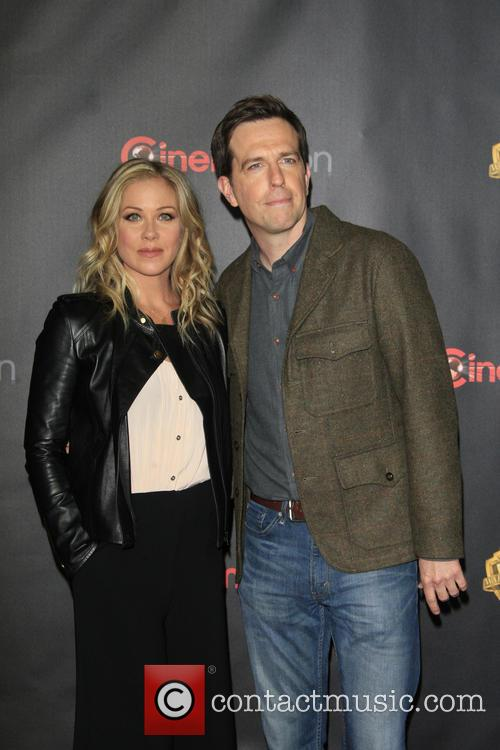 Christina Applegate and Ed Helms 3