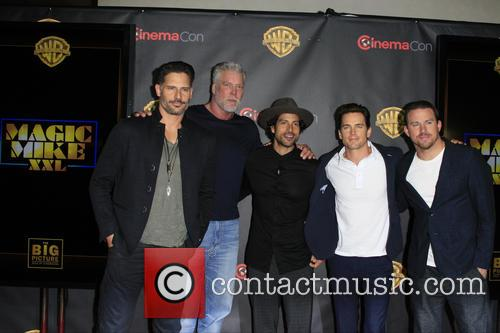Magic Mike Xxl Cast, Joe Manganiello, Kevin Nash, Adam Rodriguez, Matt Bomer and Channing Tatum 2