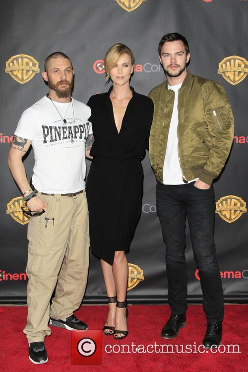 Tom Hardy, Charlize Theron and Nicholas Hoult 2