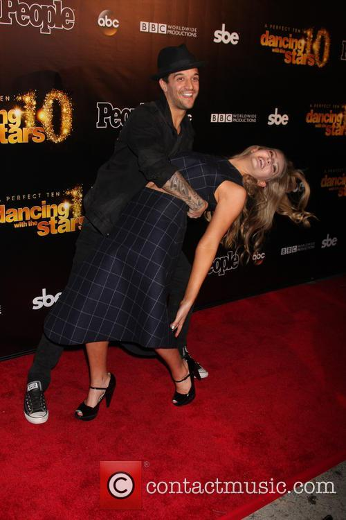 Mark Ballas and Willow Shields 2