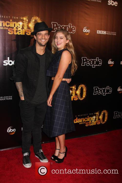 Mark Ballas and Willow Shields 3