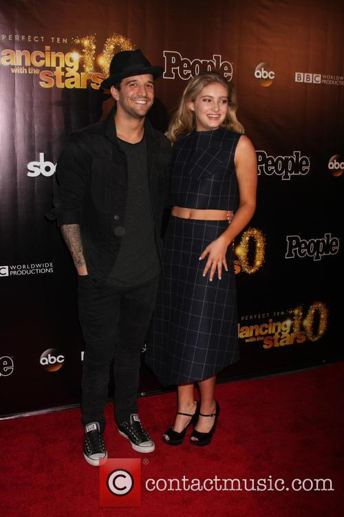 Mark Ballas and Willow Shields 1