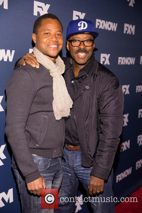 Cuba Gooding Jr. and Courtney B Vance 2