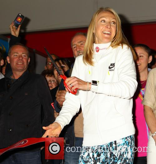 Paula Radcliffe opens the 2015 London Marathon Expo