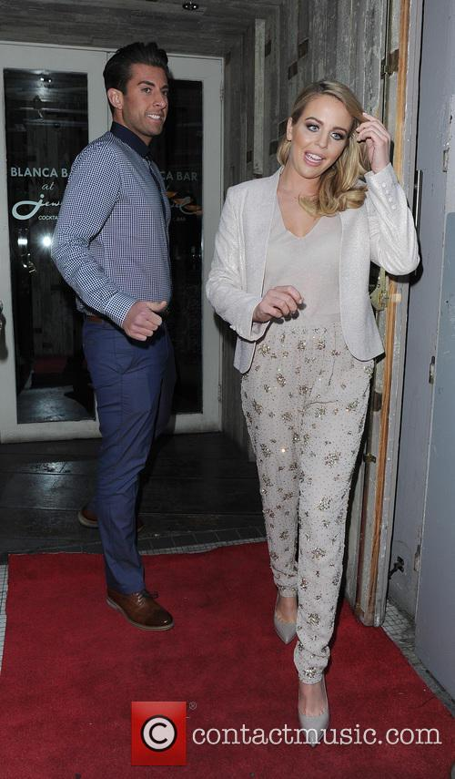 Lydia Bright and James Argent 1