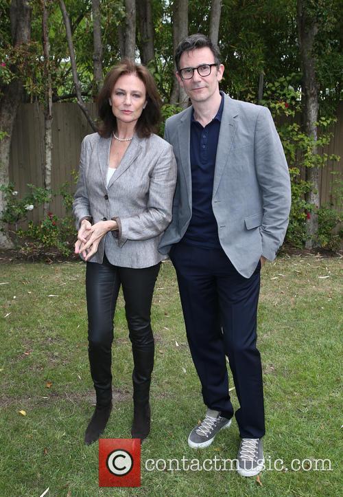 Jacqueline Bissett and Michel Hazanavicius 4