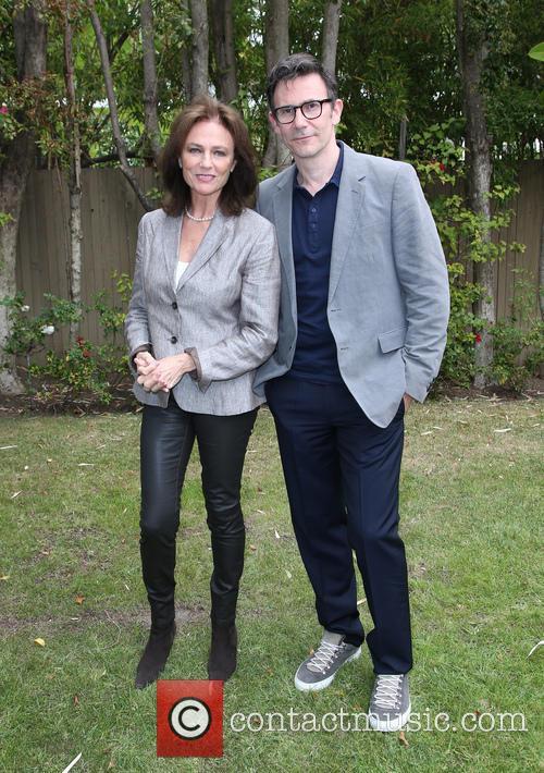 Jacqueline Bissett and Michel Hazanavicius 5