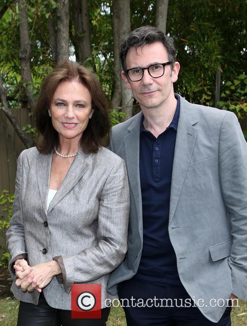 Jacqueline Bissett and Michel Hazanavicius 1