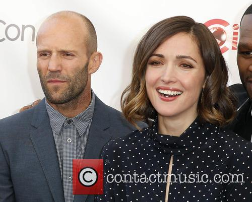 Jason Statham and Rose Byrne 2