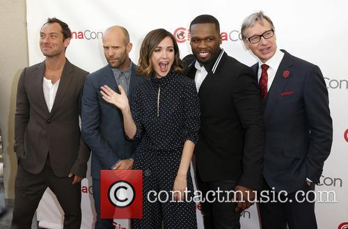 Jude Law, Jason Statham, Rose Byrne, Curtis 50 Cent Jackson and Paul Feig 6