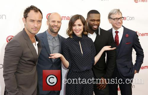 Jude Law, Jason Statham, Rose Byrne, Curtis 50 Cent Jackson and Paul Feig 10