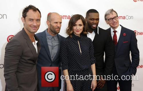 Jude Law, Jason Statham, Rose Byrne, Curtis 50 Cent Jackson and Paul Feig 11