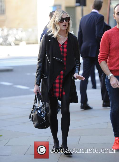 Fearne Cotton out and about in London
