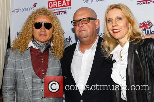 Steve Cook, Mike Tunnircliffe and Sandra Cook 2