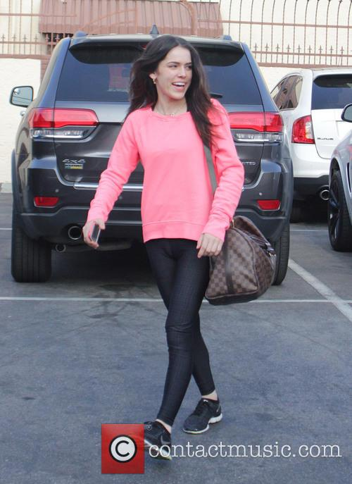 Celebrities at the DWTS rehearsal studios