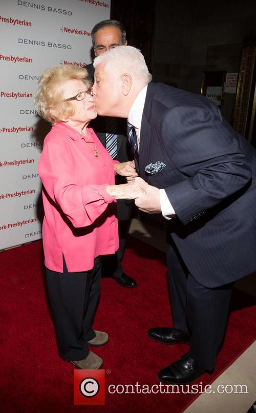 Dr. Ruth Westheimer and Dennis Basso 5