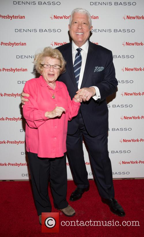 Dr. Ruth Westheimer and Dennis Basso 6