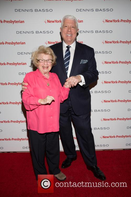 Dr. Ruth Westheimer and Dennis Basso 1