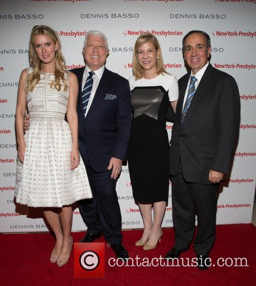 Nicky Hilton, Dennis Basso, Laura Forese and Dr.frank Chervenak 5