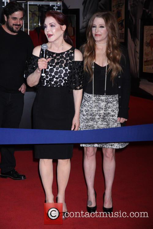 Priscilla Presley and Lisa Marie Presley 2