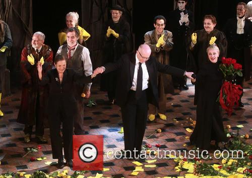 David Garrison, Roger Rees, Graciela Daniele, John Doyle, Chita Rivera and Cast 4