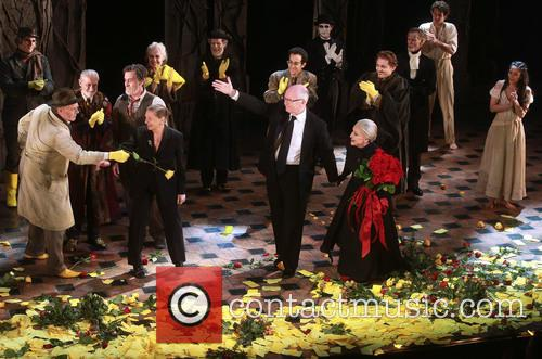 David Garrison, Roger Rees, Graciela Daniele, John Doyle, Chita Rivera and Cast 1