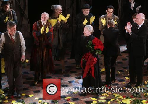 Roger Rees, David Garrison, Mary Beth Peil, Chita Rivera, George Abud and John Doyle 6