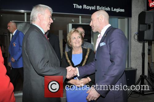 Mark Humphrey, Carwyn Jones and Margaret Jones 4