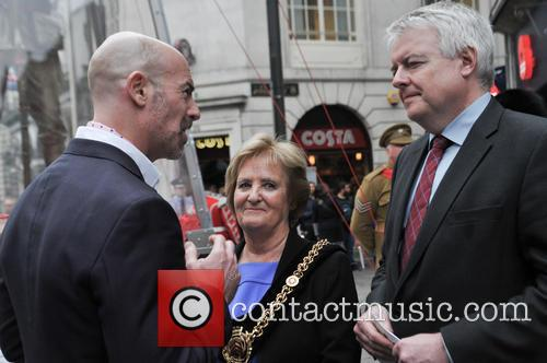 Mark Humphrey, Carwyn Jones and Margaret Jones 8
