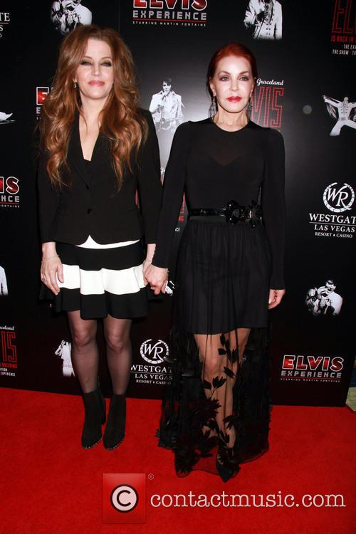 Lisa Marie Presley and Prisilla Presley 2