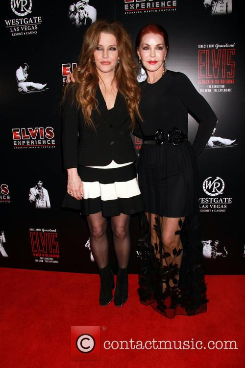 Lisa Marie Presley and Prisilla Presley 1