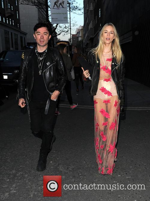 Lady Mary Charteris and Robbie Furze 2