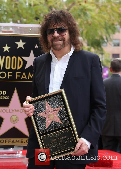 Rock Artist Jeff Lynne Honored With Star On...