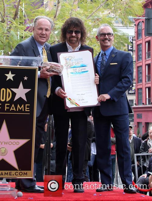 Tom Labonge, Jeff Lynne and Mitch O'farrell 1