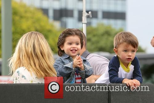 Dominic Lopez, Melissa Joan Hart and Tucker Wilkerson 2