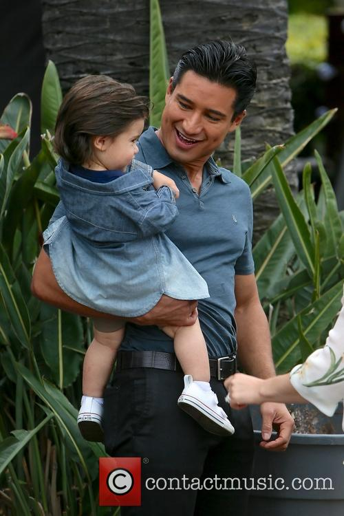 Mario Lopez and Dominic Lopez 4