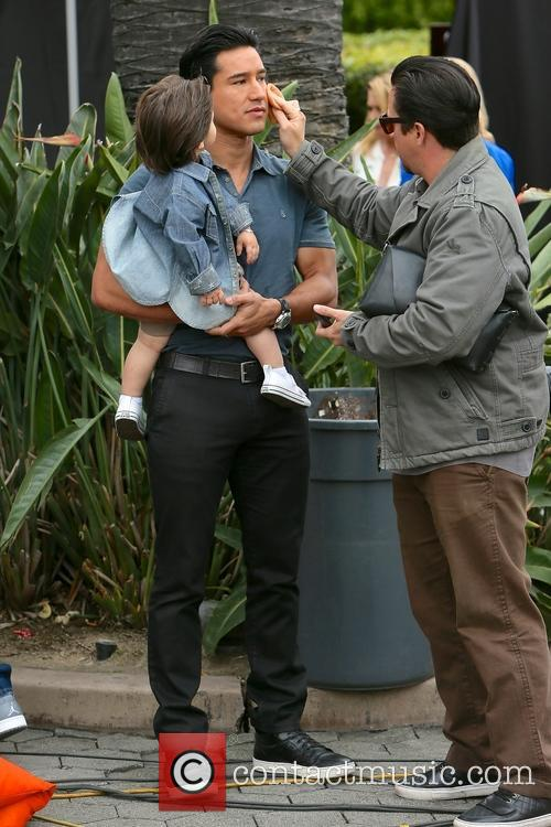 Mario Lopez and Dominic Lopez 10
